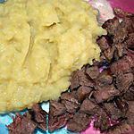 recette Ecrasé de topinambours et pommes de terre