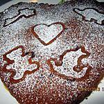 recette Gateau poires & pépites de chocolat