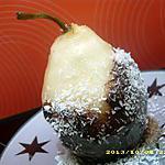 recette poires fondantes choco-coco