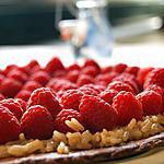 recette Tarte aux framboises façon teurgoule
