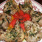 Cotes d agneau au beurre d escargots