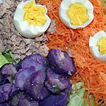 recette Pommes de terre Vitelotte en salade et son accompagnement