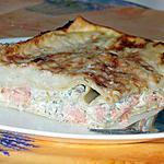 recette Lasagnes au saumon et aneth