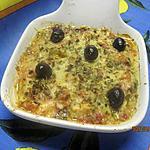 recette Blettes à la sauce tomates cuisinées et gratinées.
