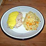 recette Filet de Lingue sauce curcuma
