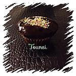 recette Cupcake au chocolat glacage chocolat noir