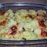 recette gratin pommes de terre-mozzarella
