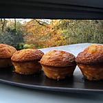 Muffins chocolat blanc fève tonka