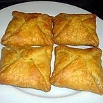 recette feuilletés courgettes et lardons