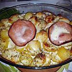 recette Gratin de pomme de terre au Tome de chêvre