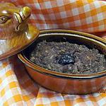 recette Pâté au coeur de boeuf à l'armagnac et stérilisé.