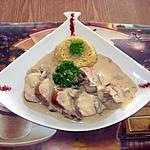 recette Filet mignon de porc au riz pilaf