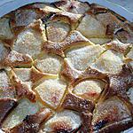 recette Gâteau aux poires et moceaux de chocolat (inspiré de CREMINA et mon grain de sel)