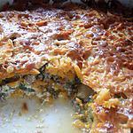 recette Gratin de patates douces, courgettes et viande hachée