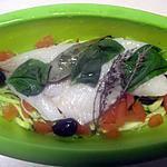 recette Eglefin aux échalotes.