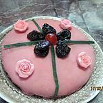 recette Gâteau aux pruneaux et pâte d'amande.