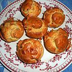 recette Petits moelleux au roquefort