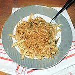 recette pates aux anchois de crémina(un peu modifiées)