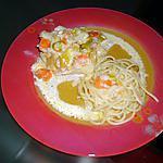 recette Filet de cabillaud aux petits légumes