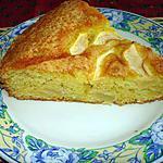 recette Gâteau moelleux aux amandes et aux pommes