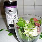 recette verrine magret fumé,poire et parmesan