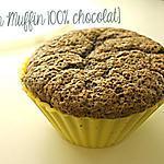 recette Muffin 100% chocolat
