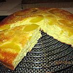 recette Gâteau aux pêches rapide