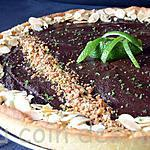 recette Tarte chocolat/Citron vert