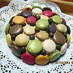 recette Gâteau aux macarons chocolaté, crème au beurre.