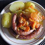 recette Saucisses Carottes Oignons