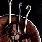 Gâteau au chocolat d'or noir