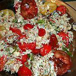 recette Tomates anciennes aux pinces de tourteaux