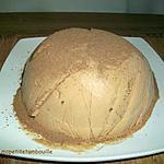 recette bombe glacée à la pralinoise
