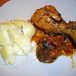 recette Sucré-salé de poulet