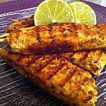 recette Brochettes de lemon-grass au poulet