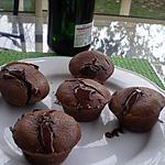 recette Moelleux au chocolat coeur collant