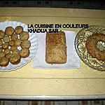 recette Cake aux deux fromages (gruyère et roquefort) et aux champignons chinois noirs