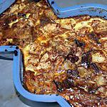 recette flan poires/chocolat (inspiré d'une recette de choupette)