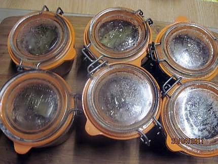 Recette de p t de rognons de porc sauce mad re - Sterilisation plats cuisines bocaux ...