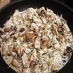recette Escalopes de poulet aux chanterelles