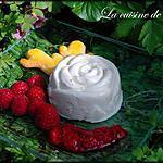 recette Rose de fromage blanc