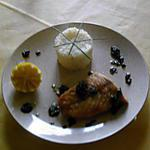 recette Filet de perche poêler, et son beurre d'ail et citron