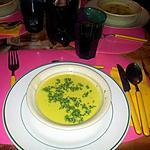 crème de chou-fleur au curry