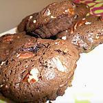 recette Moelleux au chocolat et noix de pécan