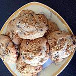 recette Cookies chocolat  praline