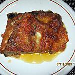 recette PARMIGIANA ( aubergine à la parmesane)