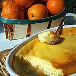 recette Moelleux de ricotta à l'orange