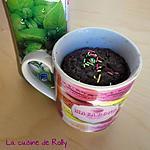 recette Mug cake chocolat menthe