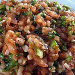 recette Ezme (salade turque aux tomates hachées)