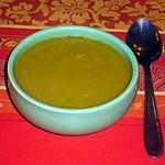recette Soupe de légumes ( poireaux/carottes)